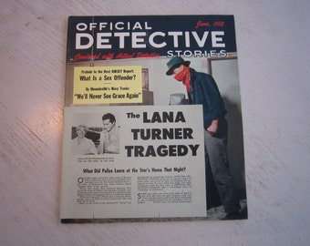 Official Detective Stories June 1958 - highgrade