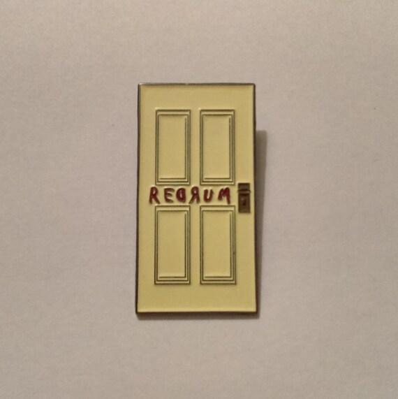 & The REDRUM Door Lapel Pin