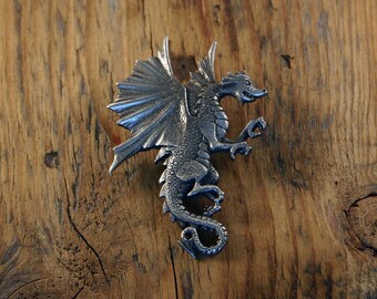 Flying Dragon Brooch