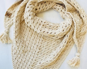 Natural soft scarf