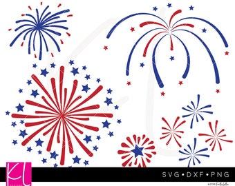 Fireworks svg, 4th of July svg, Patriotic svg, Independence Day svg, Forth of July svg, July 4th svg, Firework svg, Firecracker svg