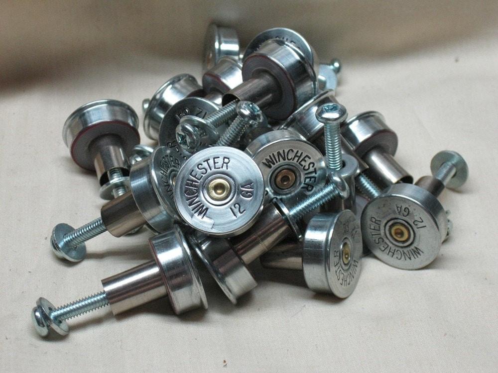 11 Shotgun Shell Cabinet Door Knobs, Shotgun Shell Drawer Knobs ...