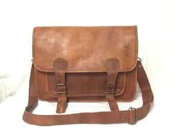 Leather Messenger bag, laptop bag,Brown, Leather ,Messenger Bag, Shoulder Bag, Leather Satchel, Leather Briefcase