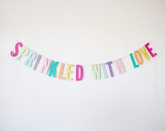 Sprinkled with Love Garland