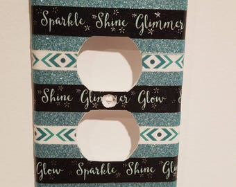 Sparkle Shine Glimmer Glow Outlet Cover