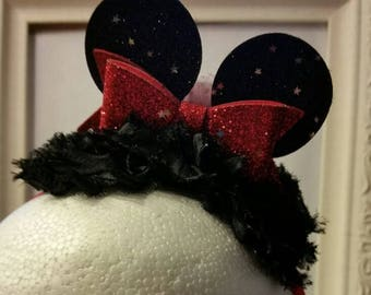 CLEARANCE  -Mini Minnie Mouse Ears Headband - Infant, Toddler, Adult