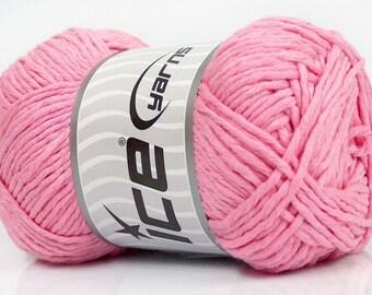Ice Yarns - Natural Cotton - Pink - 100% Cotton - 100grams
