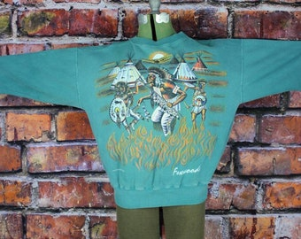Plains Indians Vintage 1990s Sweatshirt