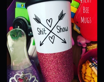 Custom 16oz Travel Mug 2 for 25
