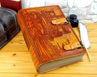 Large Custom Leather Cook Book Personalized Notebook Gift Journal Recipes Book A4 Journal TiVergy Journal