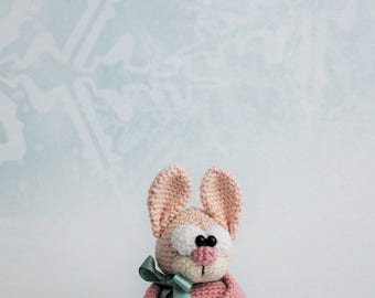 snow bunny - crochet pattern by mala designs ®