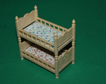 Sylvanian Dolls House Bunk Bed Twin Beds