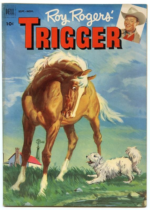 Roy Rogers' Trigger 6 Nov 1952 VG+ (4.5)