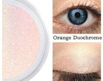 Orange Duochrome, Orange Rainbow, Highlighter, Eyeshadow, Eyes Lips Face, Iridescent Orange, Color Shift, Splendid, Orange Interference