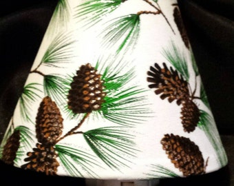 Pine Cone Night Light