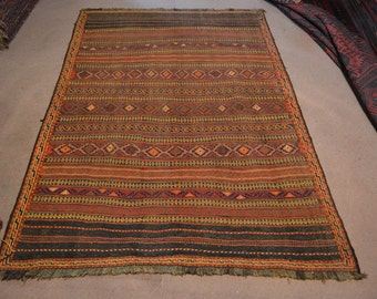 Afghan Qalaino Kilim tribal kilim handmade kilim traditional kilim