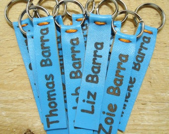 Personalized Zipper Pull, Wedding Tags, Custom Zipper Pull, Custom Clothing Labels, Knitting Labels, Personalized Crochet Labels
