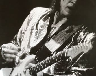 Wall Art, Music Poster, Stevie Ray Vaughn Guitar Solo 23 1/2 x 33 poster