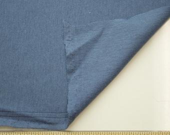Blue Slate 60'' Medium-Weight Baby Rib Knit Fabric By the Yard 3113