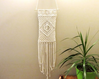 Handmade Macrame Wall Hanging made with cotton rope