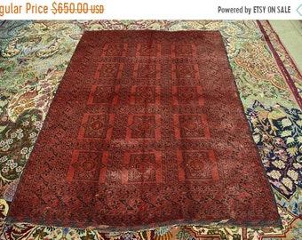 41% OFF FLAT SALE Semi Antique Alti Bolak Charshangi Pattern Kunduz Area Turkoman Carpet