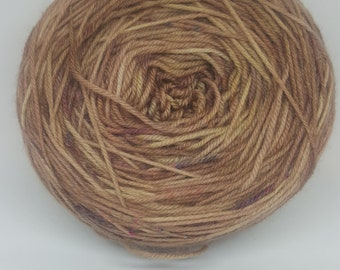 Strong Coffee Hand Dyed Yarn