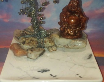 Tree of Life and Bronze Buddha Burner