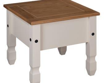 Corona painted lamp table
