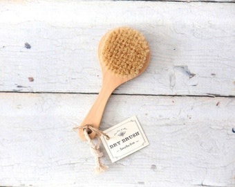 Dry Brush / Natural Boars Bristle