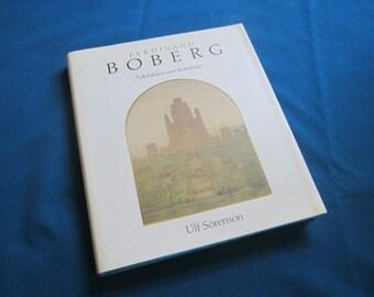 "Illustrated Hardback Architecture Book IN SWEDISH ""Ferdinand Boberg son konstnar"" by Ulf Sorenson"