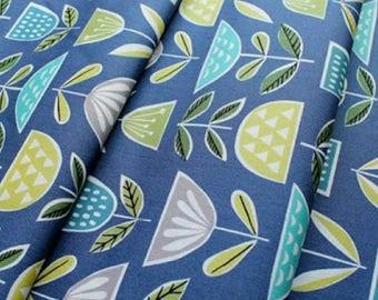 Mod Blooms Fabric | Monaluna