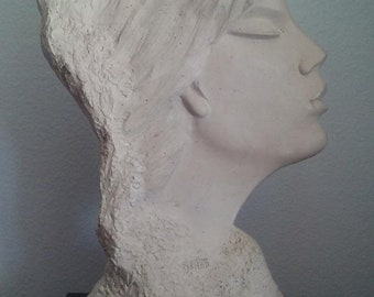 Austin Production by Fisher Sculpture of a Profile of a Sophisticated Lady