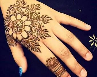 Mehndi Body Art Quality Henna : Henna etsy