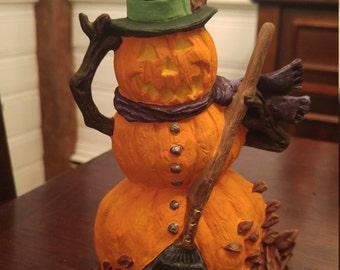 "Halloween Jack O' Lantern Man (6"" x 4.5"")"