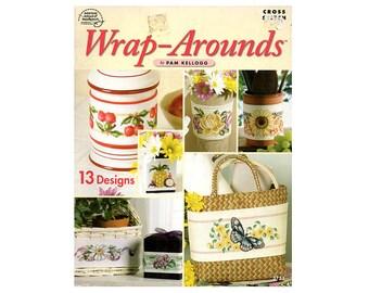 Wrap Arounds Cross Stitch Booklet, Flowers Cross Stitch, Butterfly Cross Stitch, Wrap Around Pattern, Cross Stitch Booklet, NewYorkTreasures