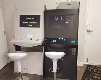 Stand Up Arcade Cabinet - Gamers Realm Model GR2