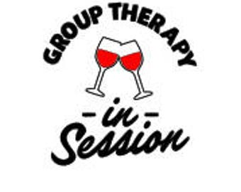 Group Therapy in Session SVG