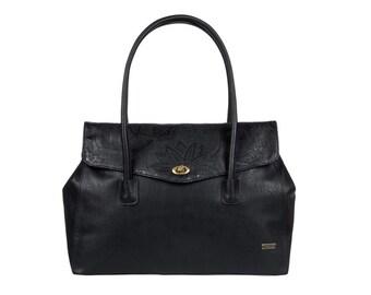 Roxy Miami Vibes, faux leather, bag, black
