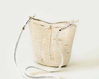 Kate medium rope bag - custom made