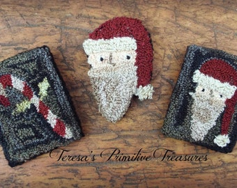 E-Pattern Punch Needle Pins Santa Claus Candy Candy