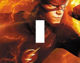 The Flash TV Show Single Light Switch Plate Cover