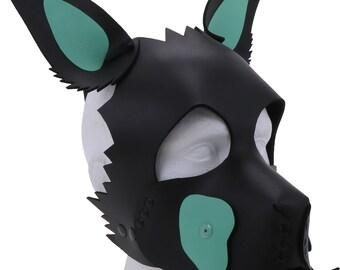 Neoprene Puppy Hood Green