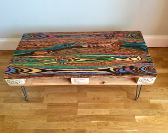 Reclaimed retro pallet coffee table
