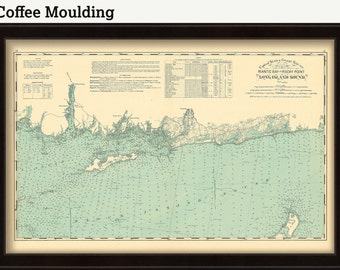 0484-Long Island Sound Nautical Chart - Niantic Bay to Rocky Point