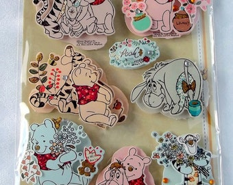 Die-cuts Disney 3D embellishment for scrapbooking, card making, crafting - Winnie the Pooh