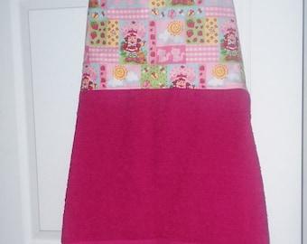 Strawberry Shortcake Baby bathing apron.