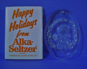 Alka-Seltzer Holiday Ornament in Original Packaging
