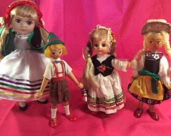 Vintage Dolls (Made in Poland)-Wooden