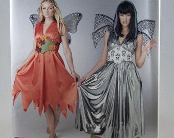 Simplicity S0318, Misses' Fairy Costume Sewing Pattern, Steampunk Fairy Costume Pattern, Misses Size 8 to 18, Uncut