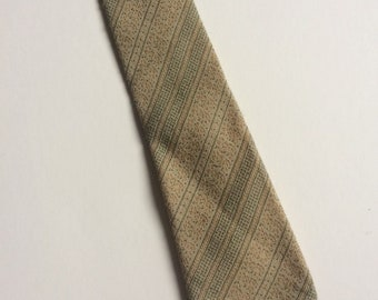 Vintage Clothing Retro Mens Austin Reed Wool Tie